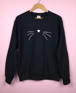 Holiday Gift Guide for Cat Lovers sweatshirt