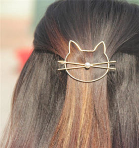 Holiday Gift Guide for Cat Lovers hair clip