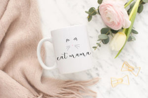 Holiday Gift Guide for Cat Lovers mug