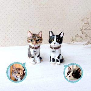 custom cat figurine gift